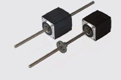 Size 11H 28mm hybrid stepper motor linear actuators