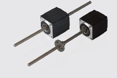 Size 11H 28mm hybrid stepper motor linear actuators