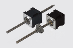 Size 14H 35mm hybrid stepper motor linear actuators