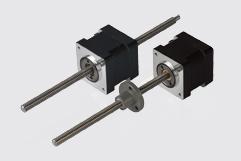Size 14H 35mm hybrid stepper motor linear actuators