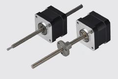 Size 17H 42mm hybrid stepper motor linear actuators