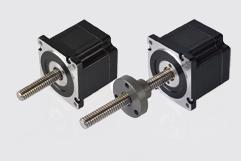 Size 34H 86mm hybrid stepper motor linear actuators